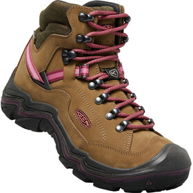 Keen W's Galleo WP Mid Shoes dark olive/wine